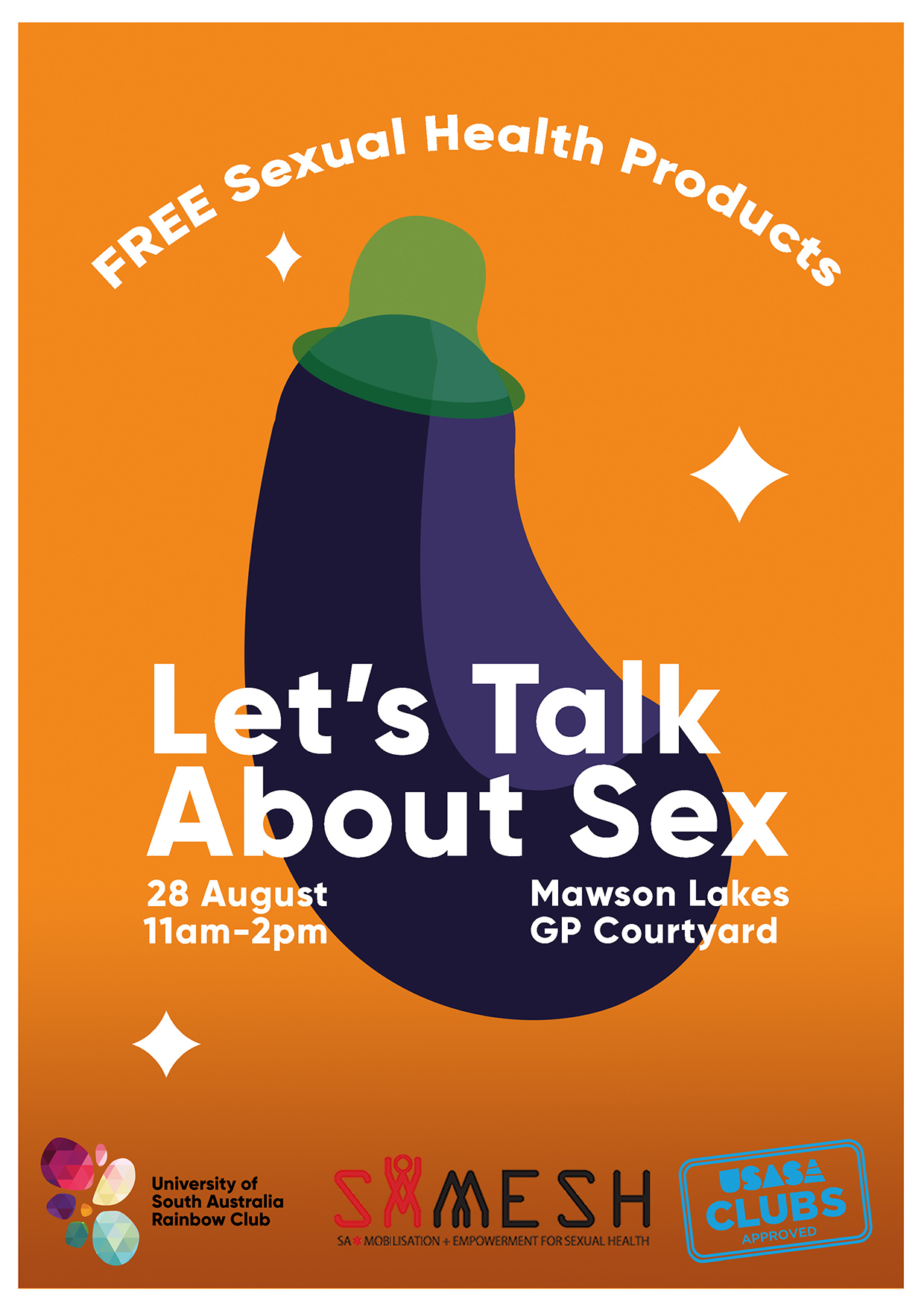 Graphic advocacy posters sexual health